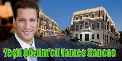 W Istanbul'a James Gancos