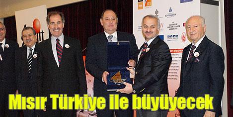 Mısır, Türkiye ilebüyüyecek