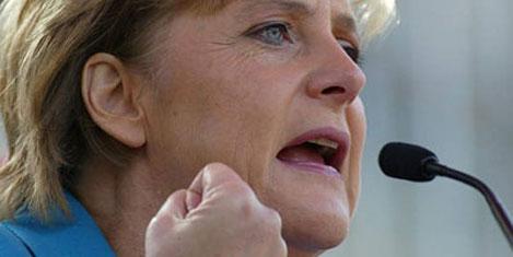 2012'nin en etkili kadını Merkel