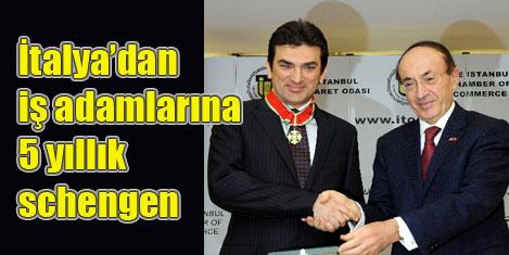 İş adamlarına 5 yıllık schengen