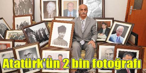Atatürk'ün 2 bin fotoğraflık albümü
