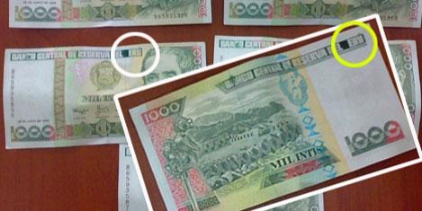 Peru parasının 'Euro' yaptılar