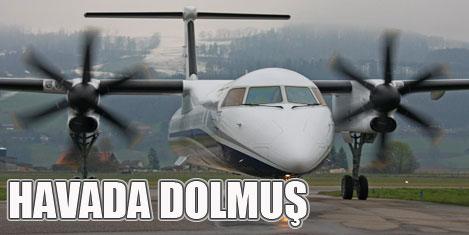 Dolmuş uçaklar geliyor