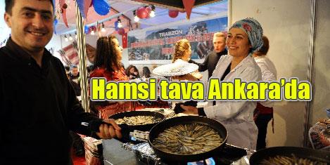 Hamsi, laz böreği Ankara'da