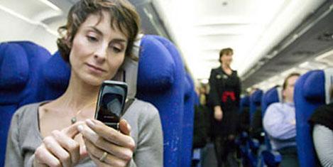Uçakta telefona onay