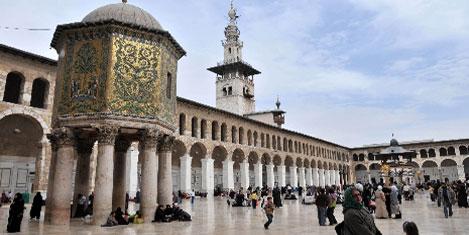 Şam'da Emevi Cami gözde
