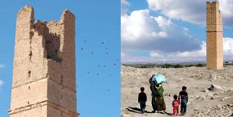 1260 yıllık rasathane kulesi
