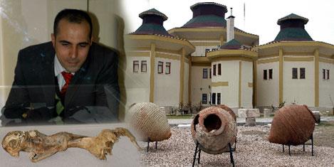 10 bin yıllık ameliyatlı kafatası