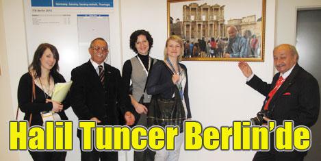 Halil Tuncer, Berlin Fuarı'nda