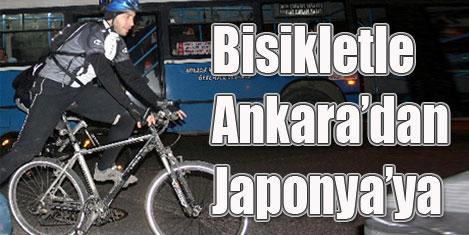 Ankara'dan Japonya'ya pedal