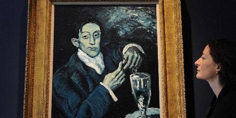 Picasso'nun tartışmalı tablosu