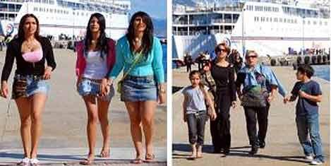 İsrail turist gemisi gelmiyor