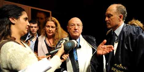 Angelopoulos'a onursal doktora