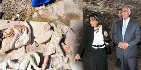 Roma panoları gün yüzüne çıktı