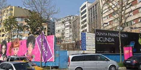 Maçka Otel inşaatı satılıyor
