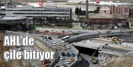 AHL'de trafik çilesi bitiyor