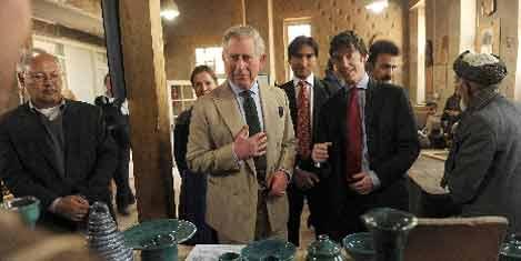 Prens Charles, Afganistan'da