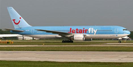 Jetairfly, İSG'den uçacak