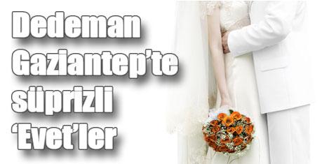 Dedeman Gaziantep'te düğün