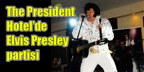 President'te Elvis Presley partisi