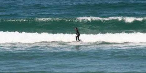 Şile sörf turizmi merkezi oldu