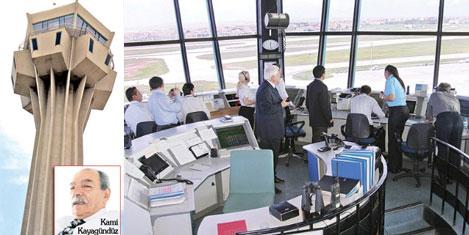 Yolcular Kontrol Kulesi'ne emanet!