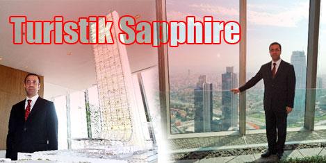 Sapphire'in terası turistik