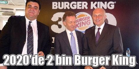 5 yılda 700 Burger King