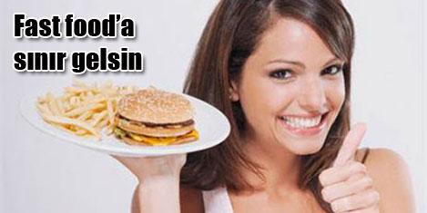 Fast fooda 18 yaş sınırı gelsin!