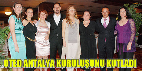 OTED Antalya'nın kuruluş balosu
