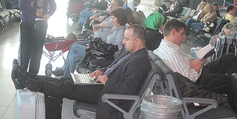 Atatürk Havalimanı tenha