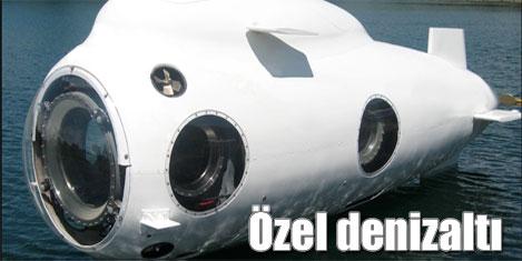 Kişiye özel lüks denizaltı