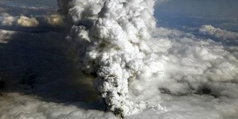 Kül bulutu tsunami yapabilir