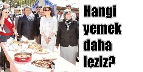Kırıkkale'de yemek yarışması