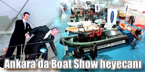 """Ankara'da """"Boat Show"""" başladı"""