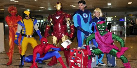 Iron Man ve süper kahramanları