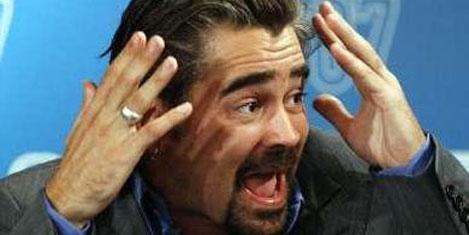 Colin Farrell, özür diledi
