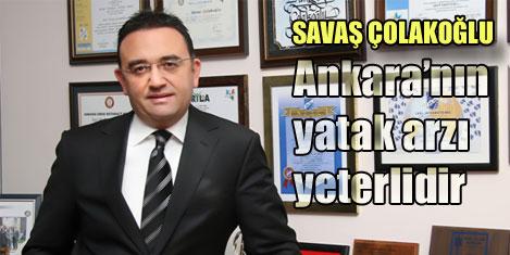 Ankara'nın yatak arzı yeterli