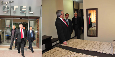 Van'da Bayram Oteli yenilendi