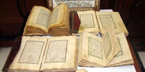 El yazması Kur'ân-ı Kerîm bulundu