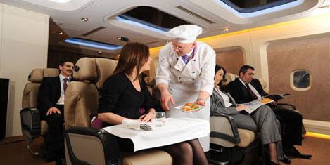 THY'de uçan aşçı görevde