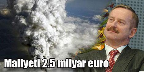 Külün maliyeti 2,5 milyar euro