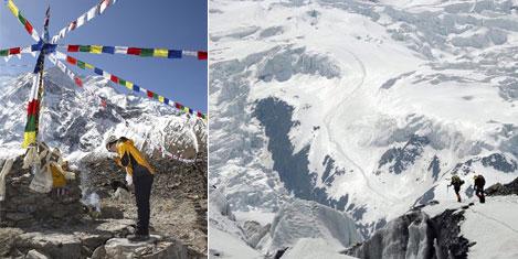 Himalayalara tırmanan ilk kadın