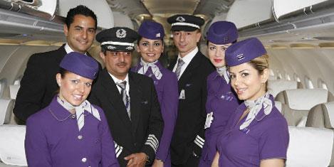 Wataniya Airways sefere başladı