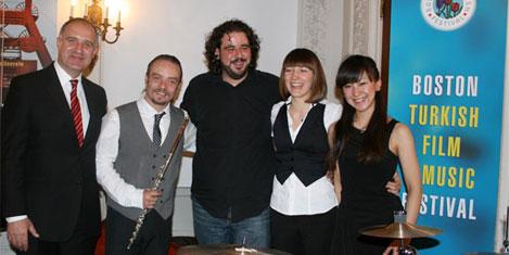 Türk müzisyenleri, Boston'da
