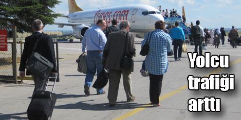 Havada yolcu yüzde 4,4 arttı