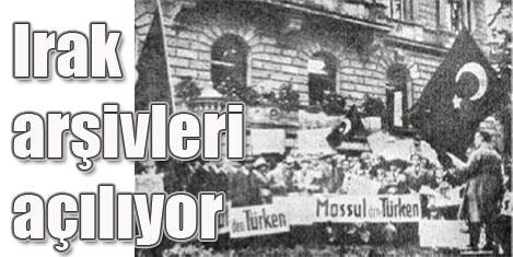Türkiye 38 yıllık Irak arşivini açıyor