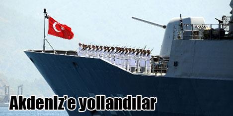 Türk Deniz Görev Grubu yola çıktı