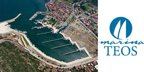 Teos Marina 18 haziranda açılıyor