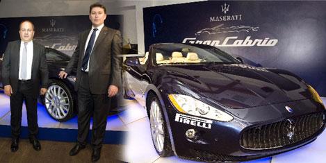 Maserati Grancabrio Türkiye'de